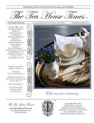 The Tea House Times NovDec2013 Issue
