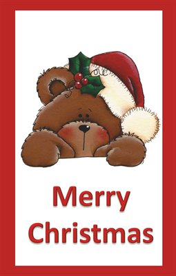 Christmas Bear with Hat
