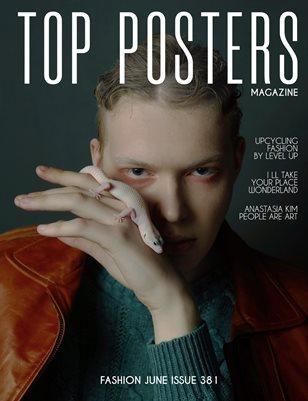 TOP POSTERS MAGAZINE- FASHION JUNE (Vol 381)