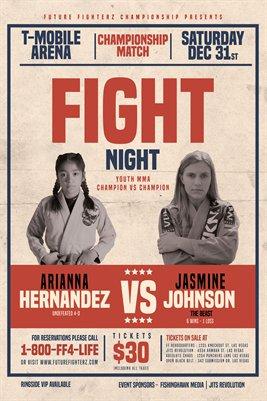 Arianna VS Jasmine Poster