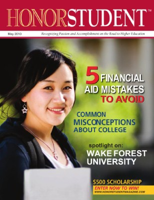 Honor Student Magazine: May 2010