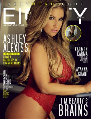 eighty6 blvd magazine series12(Sexy Nerd edition) Ashley Alexiss cover
