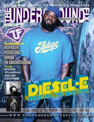 The Underground Fix Magazine Issue #41