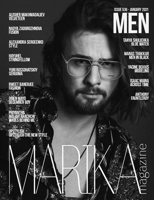 MARIKA MAGAZINE MEN (ISSUE 536 - January)