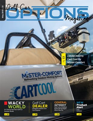 Golf Car Options Magazine - May 2019