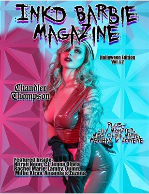 Inkd Barbie Magazine - Halloween VOL #2 - Chandler