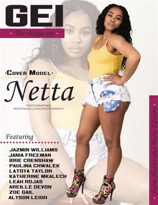 "June 2018 ""Jean Shorts & Heels"" Issue"