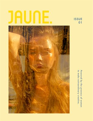 Jaune Magazine Issue 01 \ Cover 3