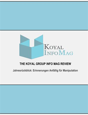 The Koyal Group Info Mag Review auf Erinnerungen Anfällig für Manipulation