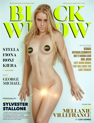 BLACK WIDOW MAGAZINE JUNE -JULY 2021