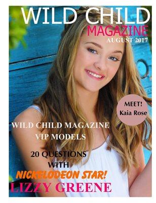 Wild Child Magazine August 2017