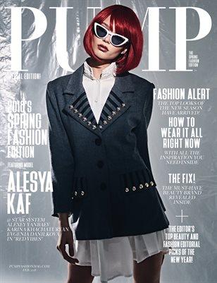 PUMP Magazine - The Spring Edition - Vol. 4