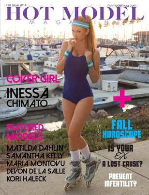 Hot Model Magazine Fall Issue