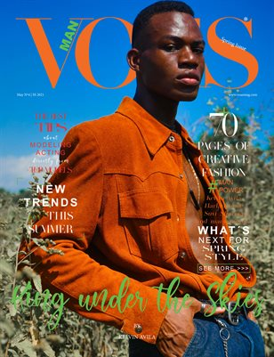 VOUS Magazine | The Man Edition | Vol.4 | May 2021