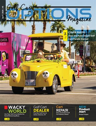 Golf Car Options Magazine - April 2020