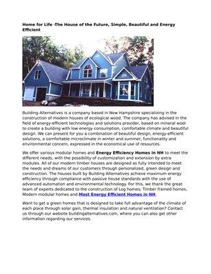 Building Alternatives, Inc.
