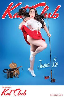 Kat Club No.33 – Jessica Lee Cover Poster