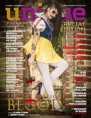 UNIQUE MAGAZINE AND MORE  SPECIAL EDITION DECEMBER -JANUARY 2018