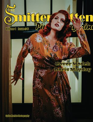 Smitten Kitten Pinup Magazine Cover 4 Doris Mayday June 2020 Issue