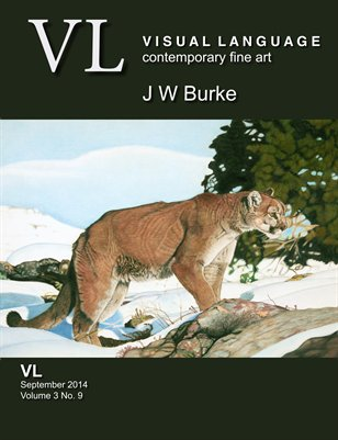 J W Burke Artspan Studio Visit with Visual Language Magazine Vol 3 No 9 September 2014