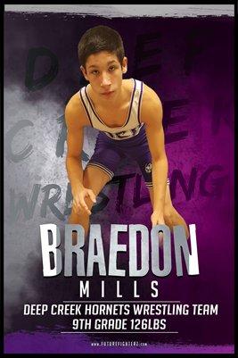 Braedon Mills DC 2 Poster