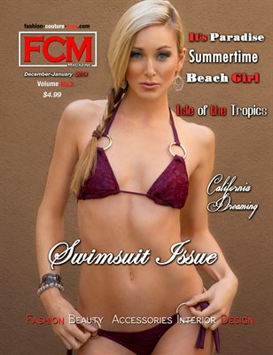 "Fashion Couture Magazine ""Swimsuit Issue"" Vol.2, No. 1"