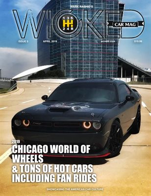 WICKED CAR MAG - APRIL ISSUE - BLACK CHALLENGER