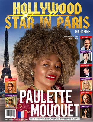 Hollywood star in paris November issue 2020