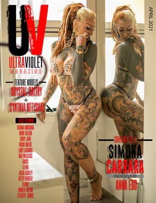 ULTRAVIOLET Magazine: April 2021 Cover Three