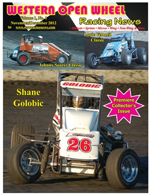 Western Open Wheel Racing News - Premiere Issue (November/December 2012)