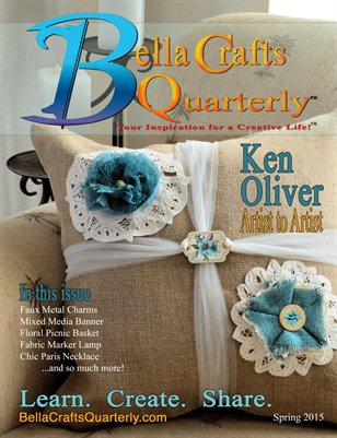 Bella Crafts Quarterly Spring 2015