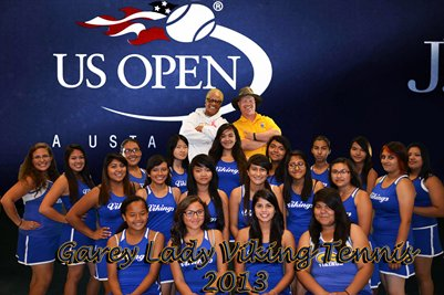 Garey Lady Viking Tennis 2013