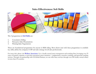 Sales Effectiveness: Soft Skills