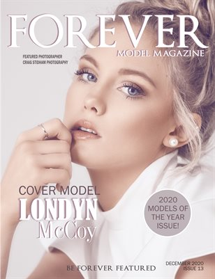 Forever Model Magazine Model of the Year Issue 13