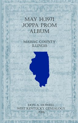 May 14, 1971 Joppa Prom Album, Massac county, Illinois