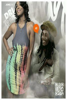 """Ari """"June 2016 Marley"""" Poster 12"""" x 18"""""""