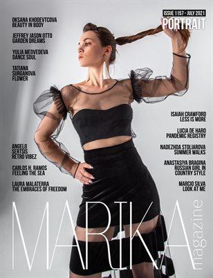 MARIKA MAGAZINE PORTRAIT (ISSUE 1157 - JULY)