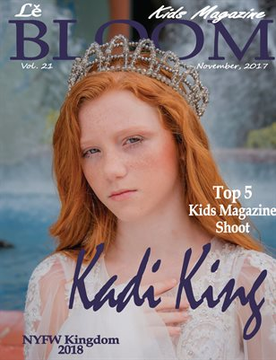Le Bloom Kids Magazine Kadi King