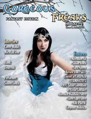 Issue 8 Fantasy Edition: Female Cover