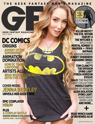 Geek Fantasy - July 2014 - Jenna