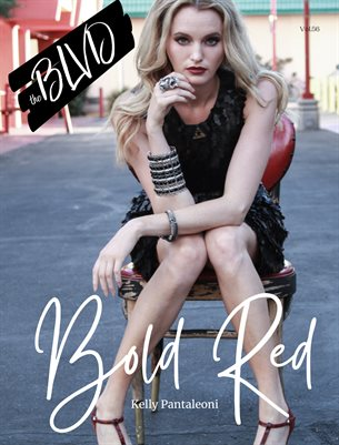 The BLVD Magazine Volume 56 Featuring Kelly Pantaleoni