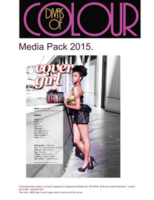 Divas of colour 2015 media pack