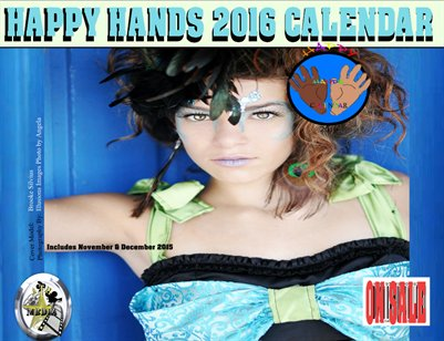 Happy Hands 2016 Calendar