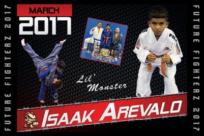 Isaak Arevalo Cal Poster 2017