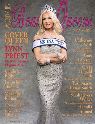 World Class Beauty Queens Magazine issue 48 with Lynn Priest