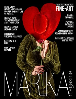 MARIKA MAGAZINE FINE-ART ( MARCH - ISSUE 703)