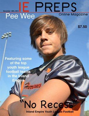 IE Preps Pee Wee Issue