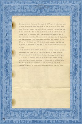 (PAGES 3-4) 1932 Deed, Albert Lucian Gibson to C.C. Wyatt, Graves County, Kentucky