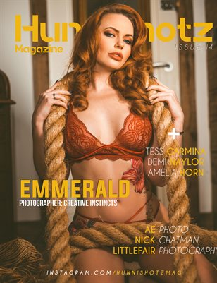 HunniShotz Magazine Issue 14 Emmerald