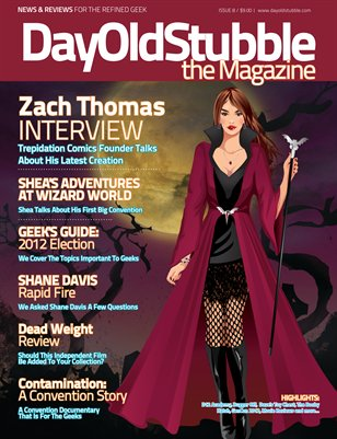 Issue 8: October 2012 | Halloween Geektacular